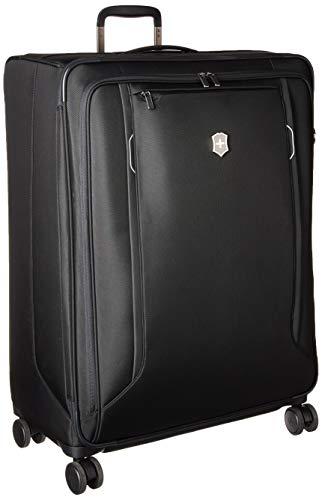 Victorinox Werks Traveler 6.0 XL Softside Spinner Suitcase, 30-Inch, Black