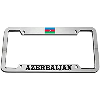 Hungarian On Board License Plate Frame Tag Holder