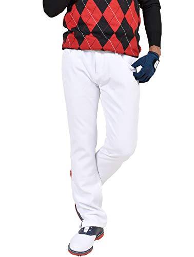 【コモンゴルフ】 COMON GOLF メンズ 美脚 裏フリース ストレッチ ゴルフ パンツ CG-NF153