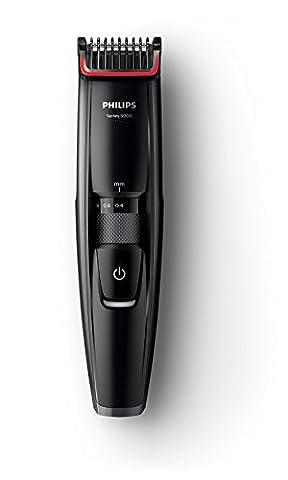 Philips beard trimmer [minimum 0.2mm width and 17 stage length adjustment] Men's grooming BT5200 / (Beard Trimmer Japan)