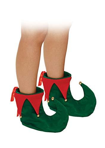 Rimi Hanger Adult Fancy Deluxe ELF Shoes Unisex Christmas Party Wear Santa Costume Accessory One Size ()