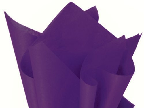 Purple Tissue Paper 15 inch X 20 inch A1 Bakery Supplies 150 Sheets by Premium Tissue Paper