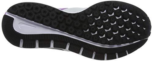 Nike Men's Running Shoes, Black White Gridiron, Women US 16