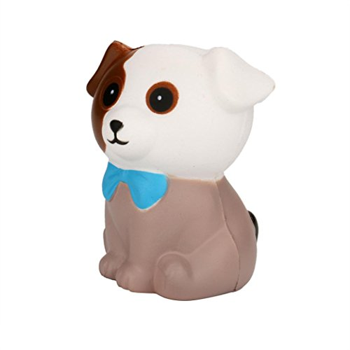 Price comparison product image Yalasga Squeeze Spotted Dog Cream Bread Scented Squishy Slow Rising Toys Gifts