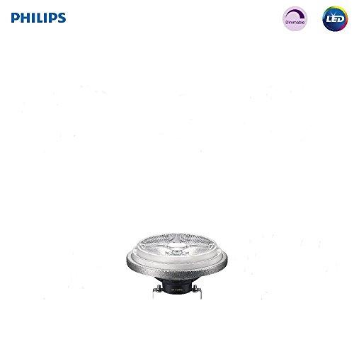 Philips LED AR111 Dimmable 8-Degree Spot Light Bulb: 600-Lumen, 2700-Kelvin, 12-Watt (50-Watt Equivalent), G53 Bi-Pin Base, Soft White, 1-Pack