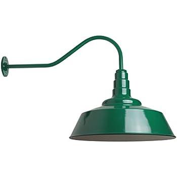 Large Gooseneck Barn Light   The Redondo Standard ...