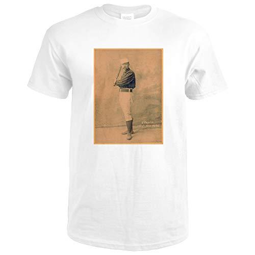 New York Giants - Jim O'Rourke - Baseball Card 22651 (Premium White T-Shirt XX-Large)