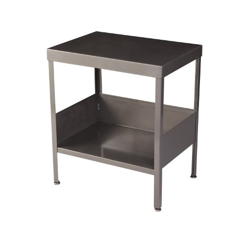 RMP Mid Century Industrial Nightstand / End Table (Clear Coat)