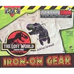 The Lost World Jurassic Park Iron-On Gear