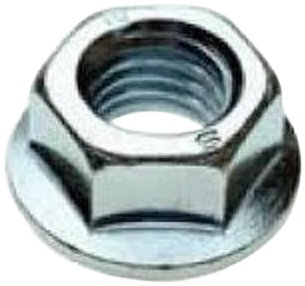 Self Locking Nut >> 316 Stainless Steel Hex Flange Nut Plain Finish Self Locking Serrated Flange Asme B18 2 2 Inch