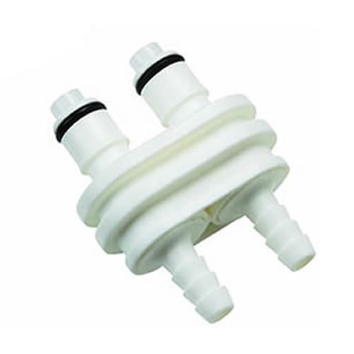 3/8inch Hose Barb Valved Inline Coupling Insert