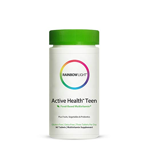 Rainbow Light - Active Health Teen Multivitamin With Dermacomplex- 90 Tablets