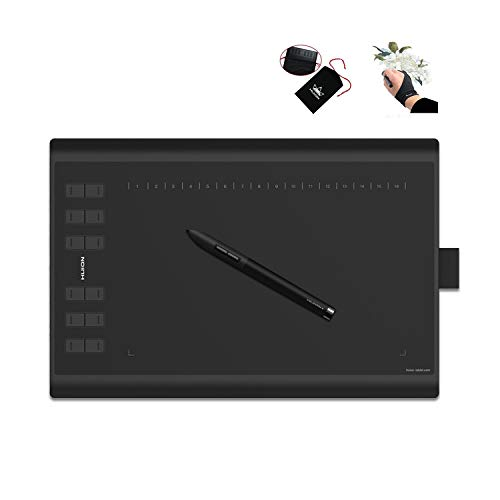 HUION New 1060 Plus Graphic Drawing Tablet with 8192 Pen...
