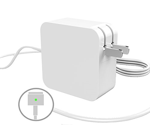 45W Power Adapter Magsafe 2 For Apple Macbook A1435 / A1465 / A1436 / A1466,11-inch & 13-inch with Retina Display (MD592LL/A),Portable Laptop Charger,T-Shape Magnetic connector 14.85V 3.05A
