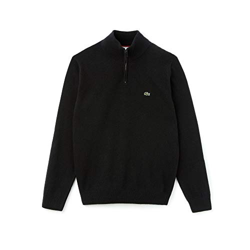 Noir passion Ah1682 farine Homme Lacoste Pull qa6A4