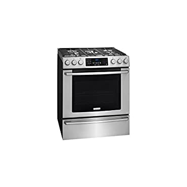 Electrolux EI30GF45QS 30 ADA Compliant Front Control Gas Range with 5 Sealed Burners 4.5 cu. ft. Capacity