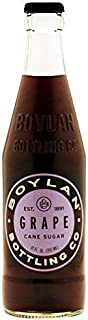 product image for Boylan Bottling Pure Cane Sugar Soda Pop, Grape, 12 oz Glass Bottles (Pack of 6)