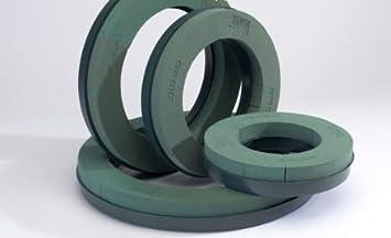 1 x 25cm RETRO IN PLASTICA GHIRLANDA Ring NAYLOR BASE Oasis Floreale Spugna SCELTA DIMENSIONE