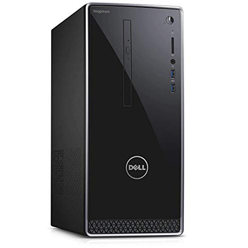 Dell Inspiron 3668 Desktop PC Intel i7-7700 Quad Core up to 4.2GHz 16GB 1TB HDD+ 128 GB SDD DVD W10H