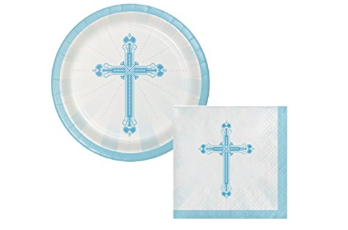 ration Party Supply Pack! Bundle Includes Plates & Napkins for 18 guests ()
