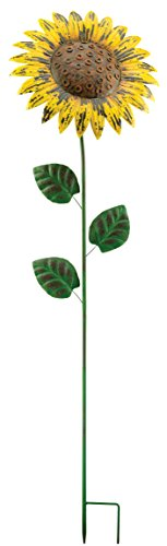 (Regal Art &Gift Giant Rustic Flower Stake, Sunflower)