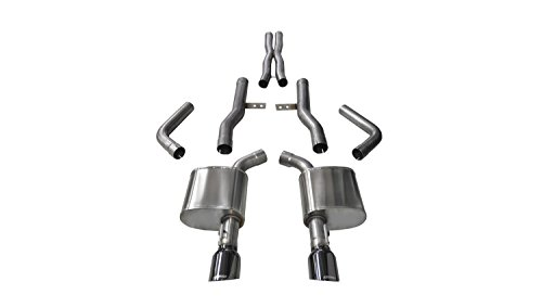 Corsa 14996BLK Cat Back Exhaust ( Dodge Charger R/T Scat Pack 6.4L V8, Extreme) Corsa Exhaust Sounds
