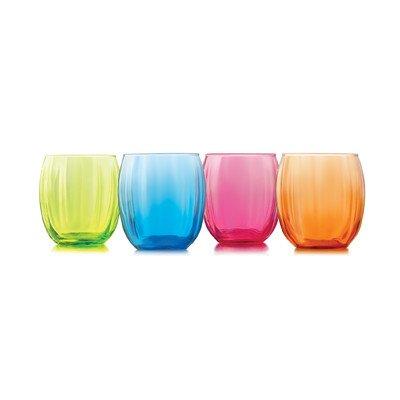 Samba 14 oz. Double Old Fashioned Glass (Set of 4)