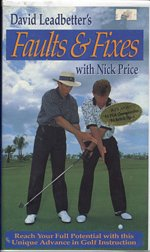 David Leadbetter's Faults & Fixes...with Nick Price - Video [VHS]