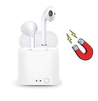 Mini Auriculares INALAMBRICOS Bluetooth 4.2, Manual DE Usuario EN ESPAÑOL, Estuche DE Carga MAGNETICA, Compatible con iOS Y Android: Amazon.es: Electrónica