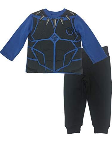 Marvel Avengers Black Panther Toddler Boys' Fleece T-Shirt