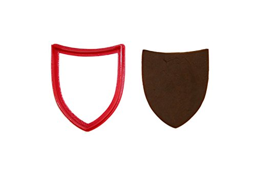 Knight's Shield Cookie Cutter (Shield Cookie Cutter)