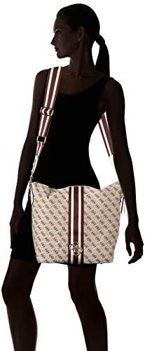 Spalla Donna H w X Guess Borsa Multicolore Hobo Vintage Cm 41x32x15 A L vpwOI