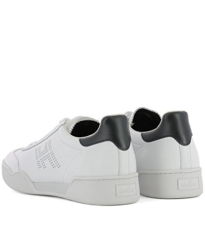 Leather Hogan White HXM3570AD40I7M4A1Q Men's Sneakers wwHxaRF