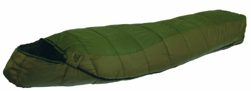 ALPS Mountaineering Crescent Lake 0 Degree Regular Mummy Sleeping Bag (32 x 80-Inch), Outdoor Stuffs