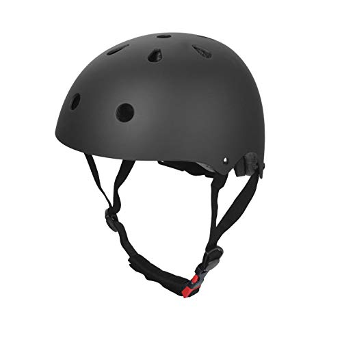 Dostar Kids Bike Helmet – Ages 3-8 – Adjustable Durable Kid Bicycle Helmets Boys and Girls Will Love (Black (19.7-21.2 in)) Review