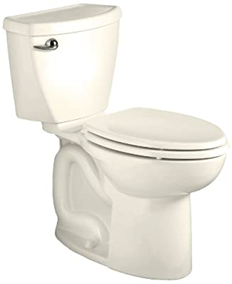 American Standard Cadet 3 Elongated Flowise Two-Piece High Efficiency Toilet with 12-Inch Rough-In, Linen Linen