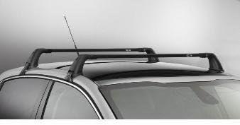 Set 2 barre portatutto portapacchi per Peugeot 208 5 porte Originali