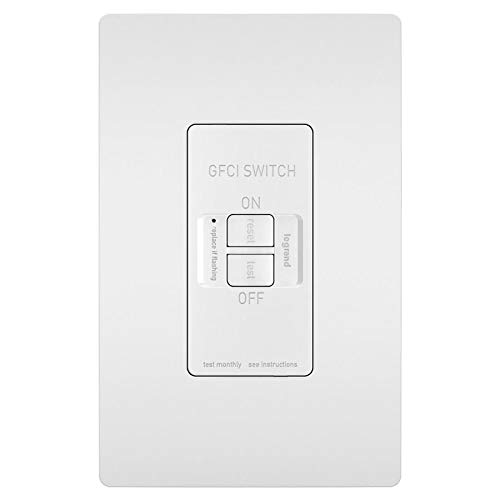 Legrand - Pass & Seymour radiant 2087WCCD4 15 Amp Dead-Front Self-Test GFCI Outlet, White by Pass & Seymour (Image #3)