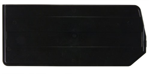 Quantum DUS255 Plastic Divider for QUS255, 15-Inch by 7-Inch, Black, Case of 6 by Quantum Storage Systems