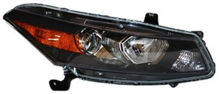 TYC 20-6881-00 Honda Accord Coupe Passenger Side Headlight (Passenger Side Headlight Assembly Coupe)