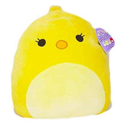 Squishmallows~ Plush Character Easter Yellow Chick Peeps 16 inch XL (Aimee 16