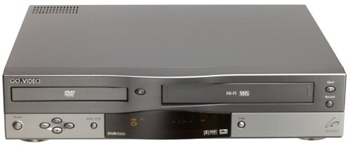 amazon com govideo dvr4000 dvd vcr combo electronics rh amazon com