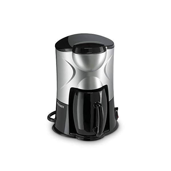 31J1RsL2smL DOMETIC PerfectCoffee MC 01, Reise-Kaffeemaschine, 12 V, 170 W, für Auto, LKW oder Boot, schwarz/silber