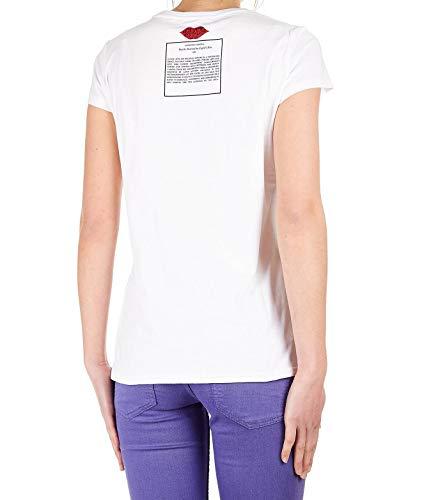 Pgp19892tscanova Heach Silvian Femme Coton Blanc T shirt gqwwH4