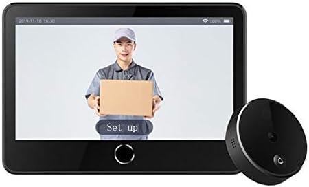 スマートWifiビデオドアベル、1080P HD、双方向会話、ナイトビジョン、充電式バッテリー、Pirモーション検出、ホームセキュリティ用キット。