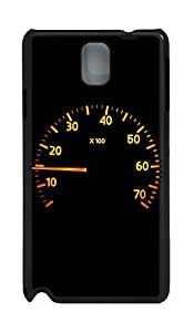 Samsung Note 3 Case Calm Racer Speedometer PC Custom Samsung Note 3 Case Cover Black