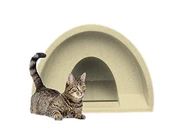 Acogedor jaulas exteriores gato de la perrera refugio arena Multi + forro polar: Amazon.es: Productos para mascotas
