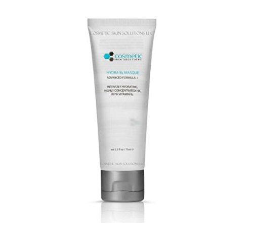 #1 BEST INTENSELY HYDRATING Vitamin B5 Masque! Heals Dry Skin, Perfect for ALL SKIN TYPES, Highly Concentrated, Most Effective, No Parabens or Oils! LARGE 2.5 oz / 75 ml Size