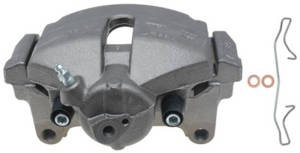 Raybestos Brakes FRC12213N Brake Parts Inc Raybestos Element3 New Semi-Loaded Disc Brake Caliper and Bracket Assembly Disc Brake Caliper Raybestos Element3 New Semi-Loaded Caliper & Bracket Assy