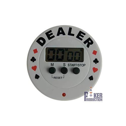 Bouton Dealer Timer TEXAS HOLDEM - en pvc - avec sonnerie Jeu autres B07HRWK57K